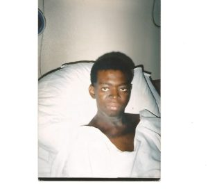 Our Founder During Cancer Treatment in South Africa 2006